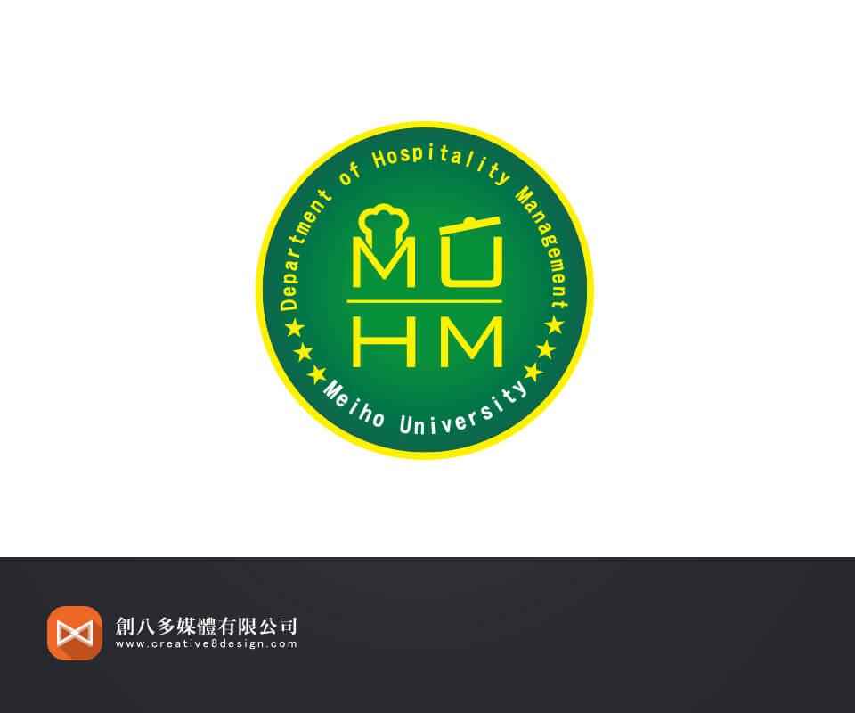 美和科技大学餐旅管理系-系徽设计图片